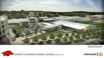 New Razorback Football Center