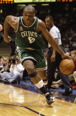 Walker's leadership and all-around play played a huge role in the Celtics' success in 2001-02.