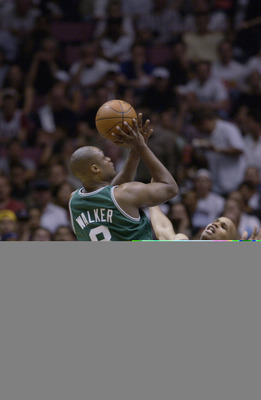 Unafraid to hoist up a shot from pretty much anywhere, Walker is one of the most high-volume three-point shooters in Celtics history.