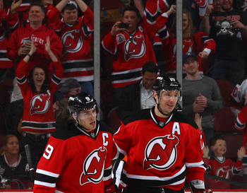 Ilya Kovalchuk leads the Devils potent offensive attack
