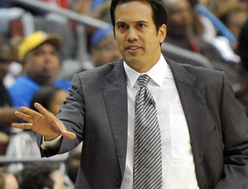 Spoelstra's inexperience could hurt the Miami Heat.