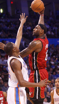 The Miami Heat will meet the Oklahoma City Thunder in 2012 NBA Finals. (AP)
