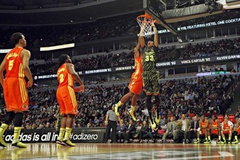No. 33 Isaiah Austin in the McDonalds All American game, courtesy of chicagotribune.com