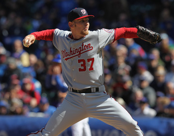 Stephen Strasburg's season debut vs The Chicago Cubs