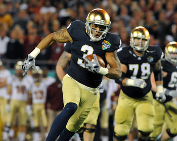 Notre Dame's Michael Floyd would provide Cam Newton with another great weapon.