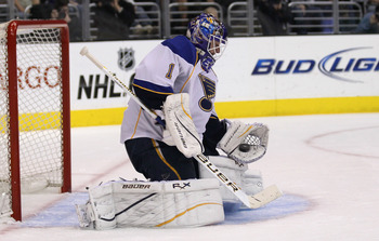 St. Louis will catch a break by having Brian Elliott as a back-up plan.