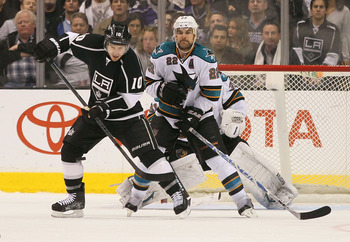 Dan Boyle is always in the middle of the action.