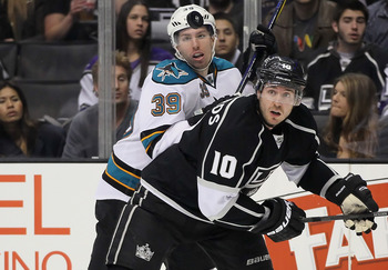 Playoff opponents will get physical with Logan Couture.