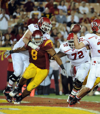 Nick Perry, a player Pete Carroll recruited when he was the coah at USC, will be the most likely option if the Seahawks decide to trade down.