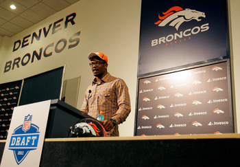 Denver Broncos' second overall pick, Von Miller.