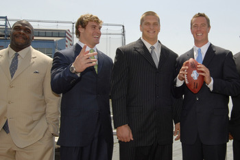 Jake and Chris Long (no relation) pictured center