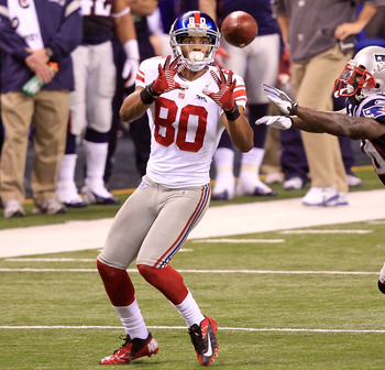 Victor Cruz finished third in the NFL in receiving yards in only his second professional season.