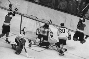 Bobby Clarke scores the most famous goal in Flyer History.
