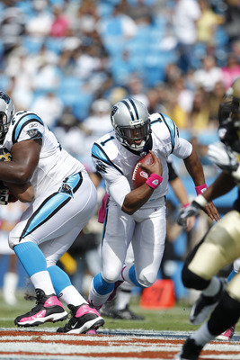 Cam Newton and the Panthers almost beat the Saints in Charlotte in 2011.