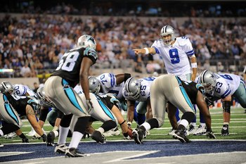 The Carolina Panthers will host Tony Romo and the Dallas Cowboys.