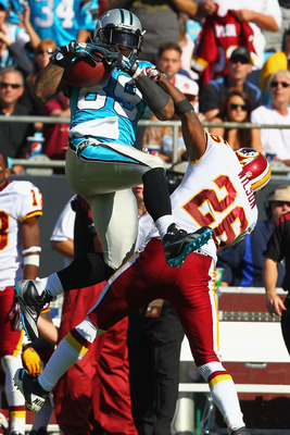 Smitty had seven catches for 142 yards in Week Seven of the 2011 season against the Redskins.