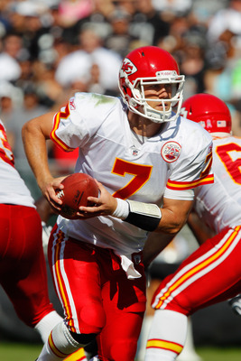 Matt Cassell leads the Kansas City Chiefs offense.