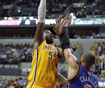 Roy Hibbert has the Pacers' sights set on lofty goals.