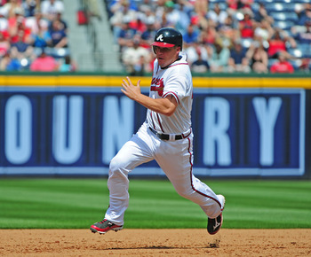 Chipper Jones added to his totals against the Brewers today.
