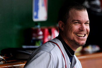 Chipper Jones is averaging better than one homer per nine at bats against Tampa Bay.