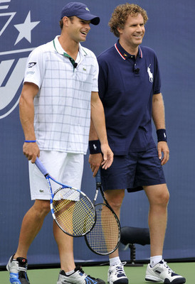 A match Roddick knows he probably won't lose [Img via Zimbio]