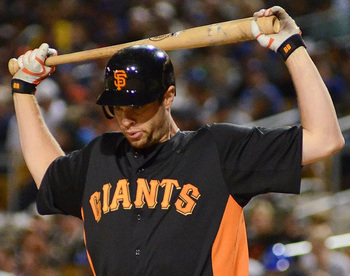 Batting .143 isn't going to convince the Giants to play Brandon Belt more. (US Presswire)