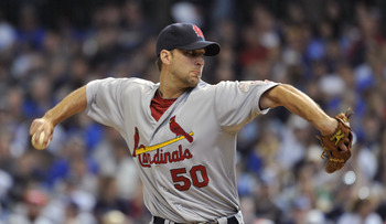 Adam Wainwright is trying to bounce back from missing all of 2011 after undergoing Tommy John surgery.