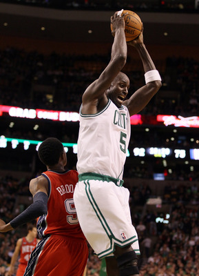 Garnett has shown his versatility by shining at center.