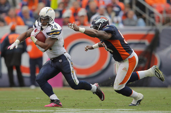 Chargers RB Ryan Mathews