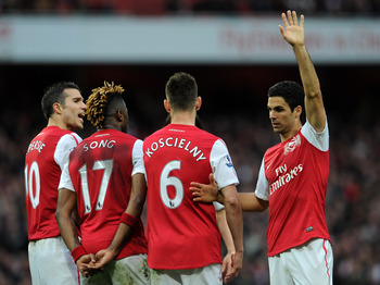 Arteta: He will be missed