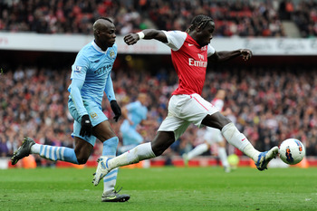 Not a good game for Sagna