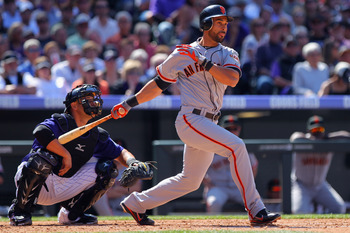 Angel Pagan is beginning to have some good at-bats