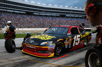 Clint Bowyer was well off the pace of his MWR teammates at Texas