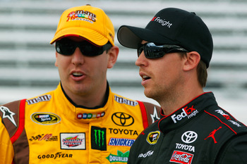 Joe Gibbs Racing did not fair well at Texas