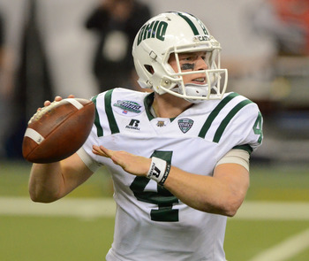 Tettleton is one of 10 returning starting QB's in the MAC in 2012.