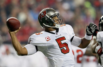 Josh Freeman was supposed to break out in 2011; instead, he regressed. The third-year quarterback threw for 3,592 yards, 16 touchdowns and 22 interceptions.