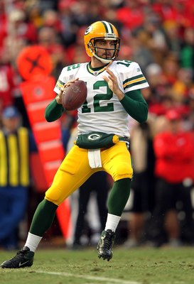 Aaron Rodgers completed 47-of-60 passes for 585 yards with seven touchdown passes in two games against Minnesota in 2011.