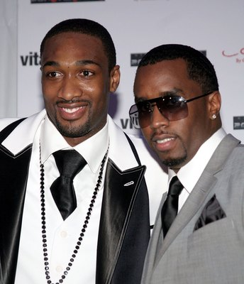 Gilbert Arenas has fashion and flair.