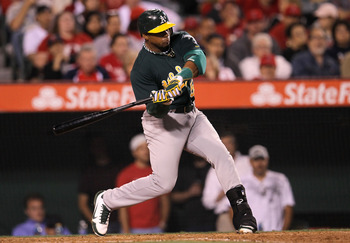 Yoenis Cespedes has provided a big boost for the 2012 A's.