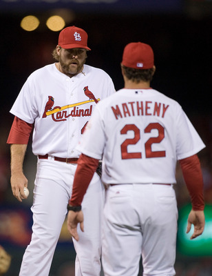 New manager Mike Matheny is proving why he deserved this job.