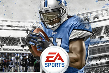 Your new Madden 13 cover boy: 6'5'' 235-pound Calvin Johnson