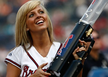 Cute Balls Girls of Major League Baseball