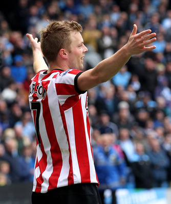 Sebastian Larsson has mastered the art of the free kick