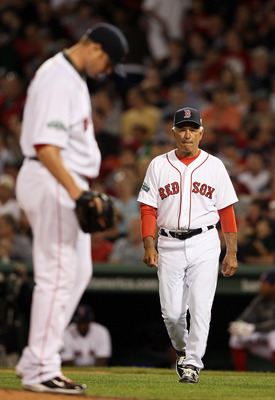 Jon Lester struggled on Tuesday night, a bad night all-around for Sox pitchers.