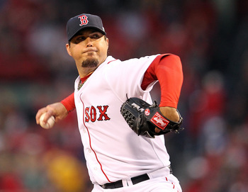 Josh Beckett was solid on Wednesday, going 7.0 innings and allowing three earned runs.