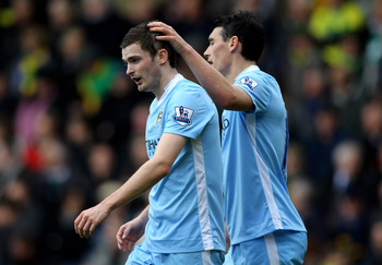 Adam Johnson nets one for Manchester City