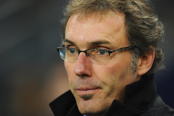 French national coach Laurent Blanc.