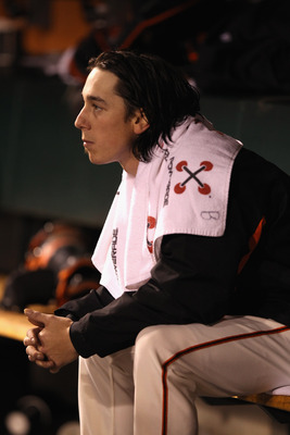 Tim Lincecum has struggled in his three starts