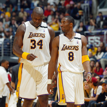 Shaq and Kobe won their final title together in June of 2002.