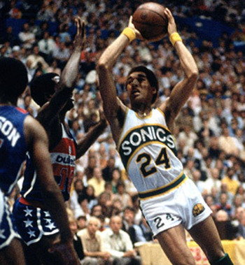 Dennis Johnson helped lead the Seattle Supersonics to the 1979 Championship.